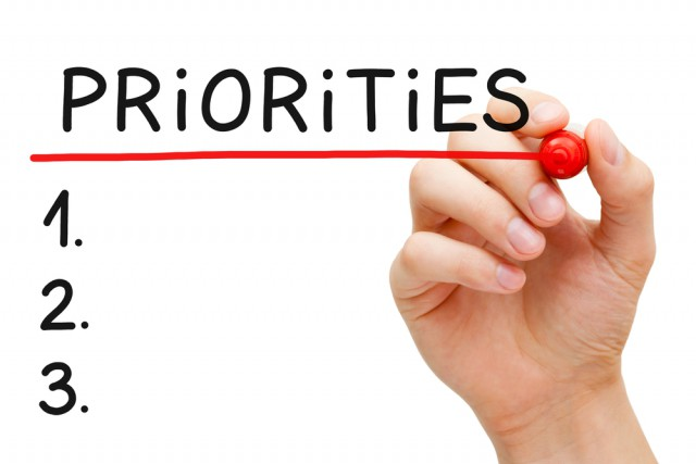 Clear objectives and systems help determine your priorities