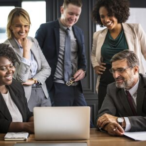 Work with team during hiring process